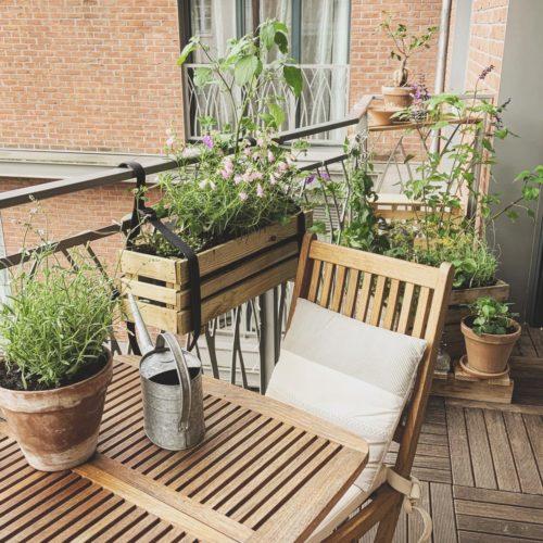 Une terrasse bucolique dans le 11ème